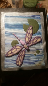 Dragonfly journal cover