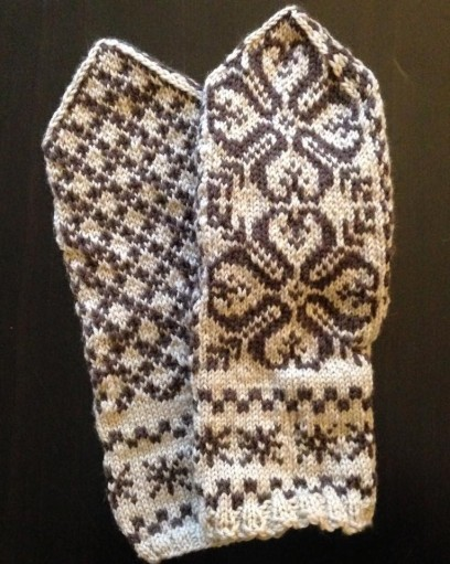 selbuvotter mittens