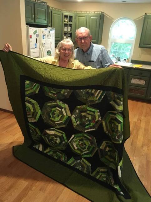 June Ann and Lyle quilt